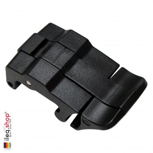 Peli Koffer Schnalle, 36mm, Schwarz