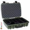 iM2370 Peli Storm Koffer Oliv, Mit Einteiler