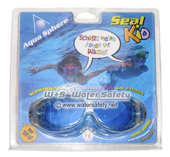Die SEAL Kid von Aquasphere ist eine sehr leichte und komfortable Maske für Kinder von 4 bis 8 Jahren. Für den Schwimmsport, das Toben oder Blubbern im Wasser und alle anderen Beschäftigungen am oder im Wasser.
