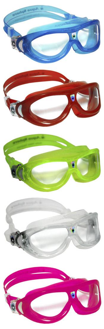 AquaSphere Schwimmmaske SEAL Kid - Auslauf